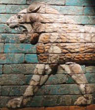 Lion from the Processional Way Iraq (Babylon) Reign of Nebuchadnezzar II, 604-561 BC